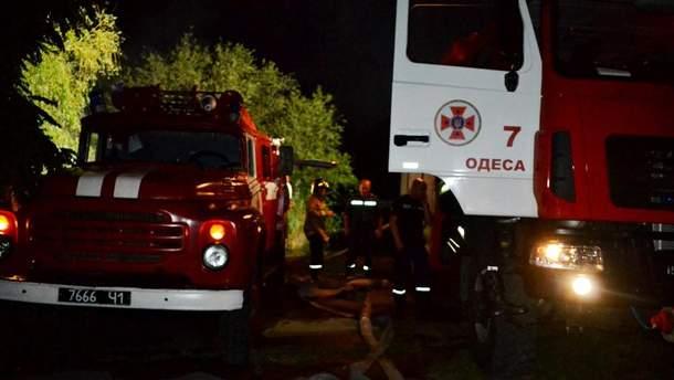 НаБалковской сгорело сразу 4 авто