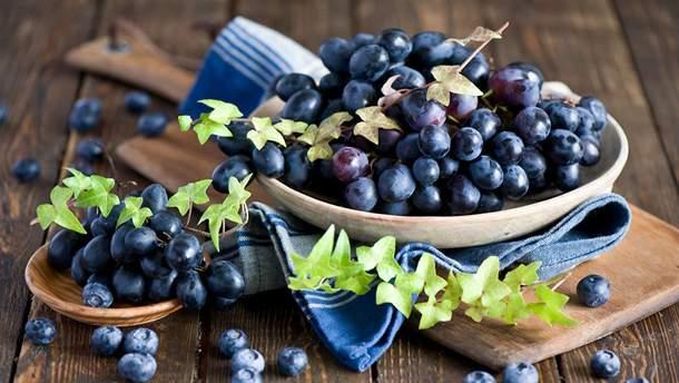 Чорниця і виноград позитивно впливають на здоров'я легень