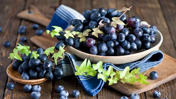 Черника и виноград положительно влияют на здоровье легких