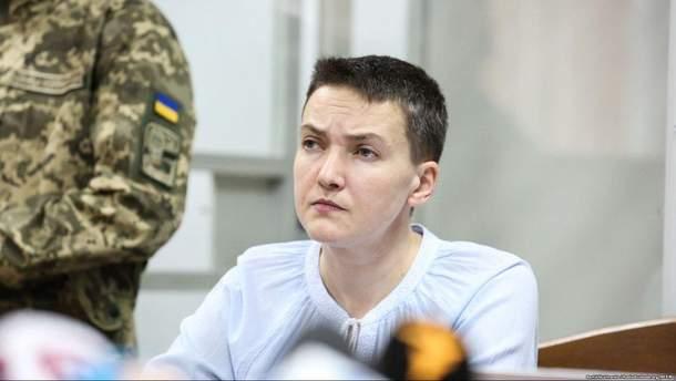 d9fdb47f545f35 Савченко не пройшла перевірку на поліграфі та продовжує голодувати ...