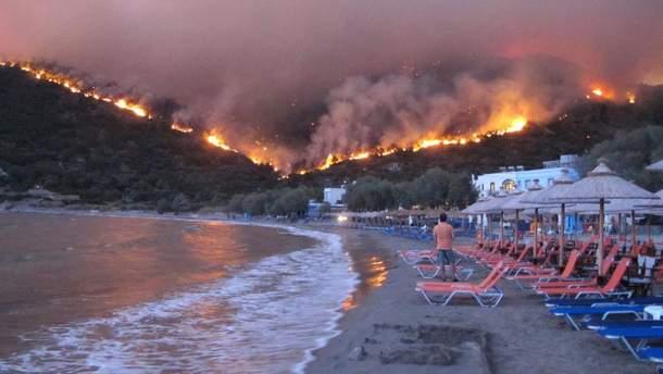 """Результат пошуку зображень за запитом """"У Греції  лісовими пожежами"""""""