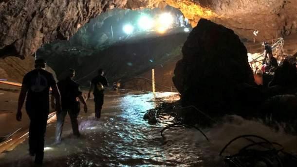 Пещера в Таиланде