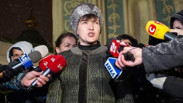 Надія Савченко укотре заявила, що йде у президенти