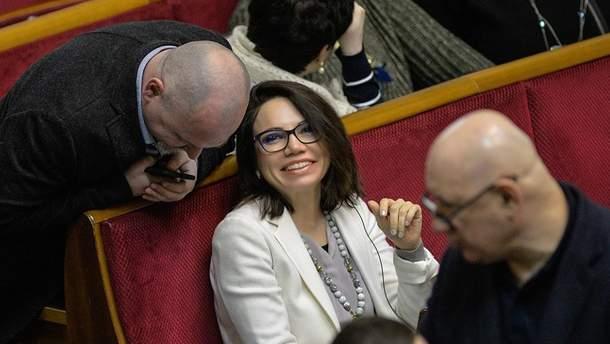 Виктория Сюмар вышла замуж за бывшего первого заместителя мэра Ирпеня Дмитрия Христюка