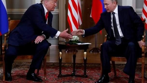 Зустріч Трампа з Путіним