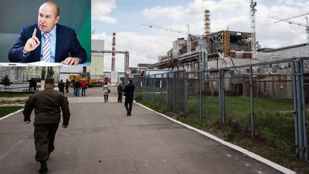 Гендиректор Чернобыльской АЭС подал в отставку из-за конфликта с Минэкологии