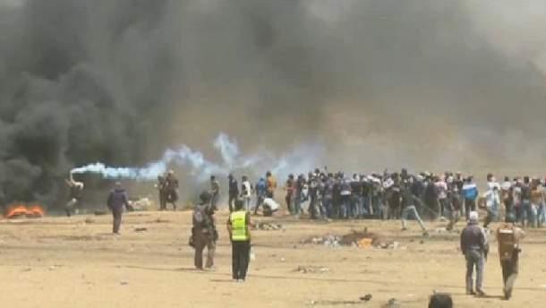Беспорядки в секторе Газа вспыхнули с новой силой