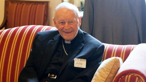 Кардинал Теодор Маккаррік подав у відставку через сексуальний скандал