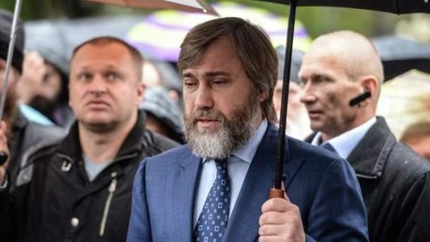 Новинського охороняють працівники ФСБ Росії