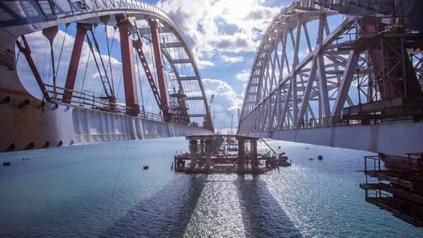 Від чого може завалитися Кримський міст