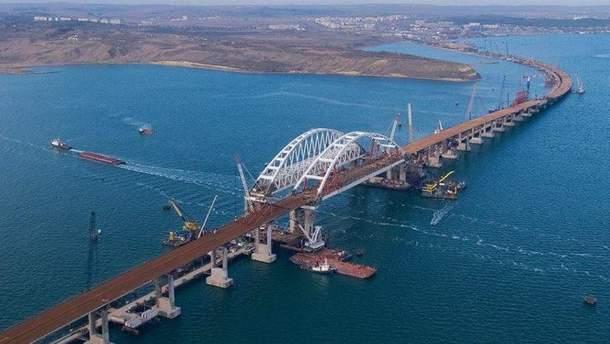 ЄС ввів санкції проти 6 компаній, які будували Кримський міст