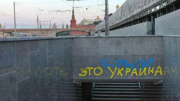 Пропагандисти Кремля сконфузилися, показавши, кому насправді належить Крим (фото)