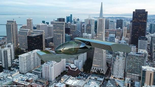 На авиашоу представили летающий автомобиль, который машет крыльями