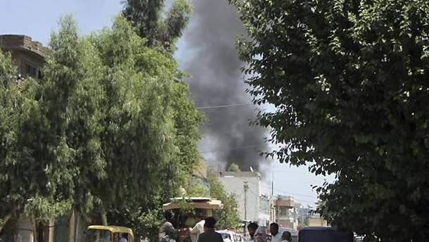 Нападение на правительство Афганистана