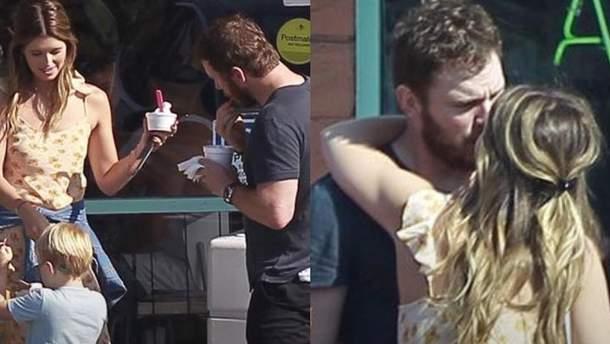 Кріса Пратта заскочили на поцілунках з донькою Шварценеггера