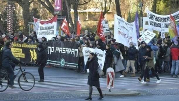 Протести в Австрії