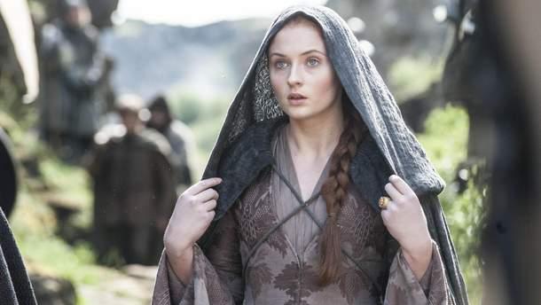 """Софі Тернер в ролі Санси Старк у """"Грі престолів"""""""