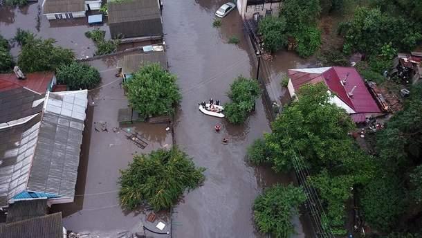Жители наиболее пострадавших от непогоды домов в Чернигове нуждаются в отселении