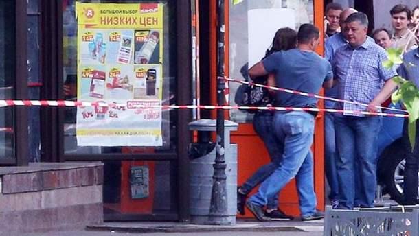 УМоскві невідомий захопив заручників умагазині, одну жінку поранено