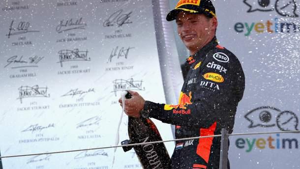 Формула-1: Макс Ферстаппен выиграл гран-при Австрии