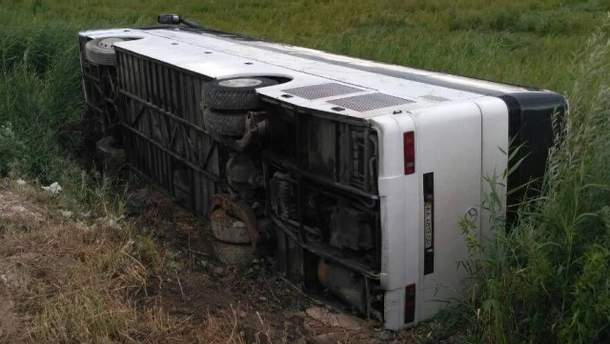 Аварія на Рівненщині