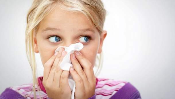 Чому у дитини йде кров носом