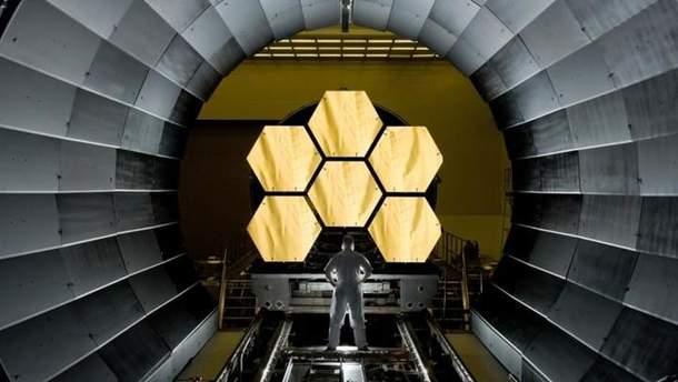 Запуск телескопа James Webb отложили еще на год