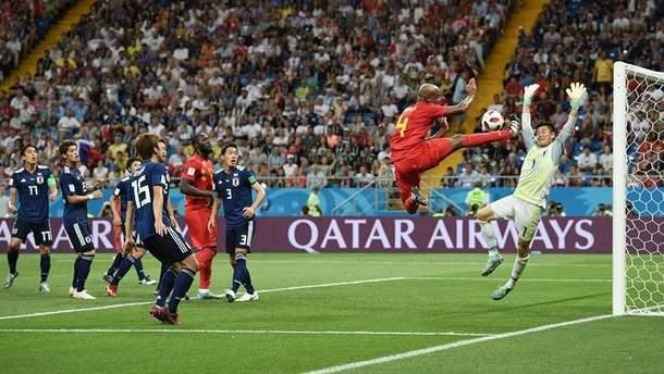 Бельгия - Япония: видео голов матча ЧМ-2018