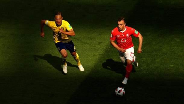 Швеція – Швейцарія результат матчу ЧС-2018