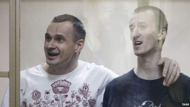 Кінорежисер Олег Сенцов у знак протесту голодує вже 50 днів