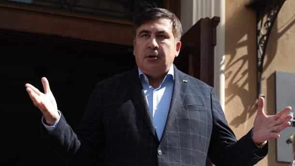 Саакашвілі вимагає повернути йому грузинське громадянство