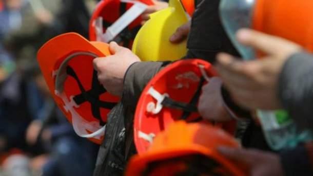 На Волыни бастуют шахтеры из-за задолженности по зарплате