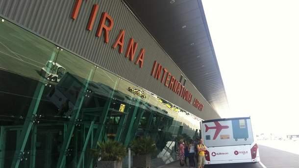 Українські туристи застрягли в аеропорту Тірани