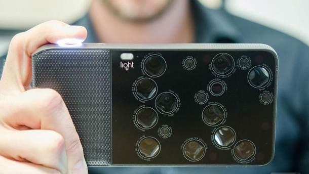 Смартфон может получить 9 камер