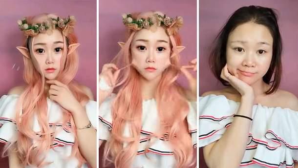 Как макияж меняет внешность
