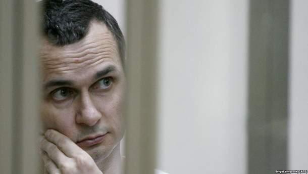 У Росії допустили внесення Сенцова у список на обмін