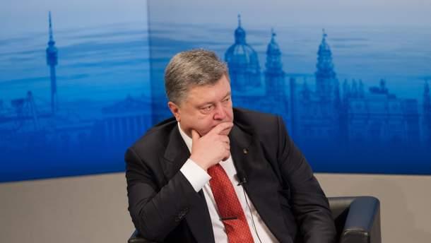 Петр Порошенко пополнил свою декларацию еще на 1 миллион гривен