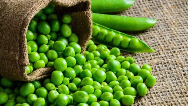 Вітамін В9 міститься в зеленій городині