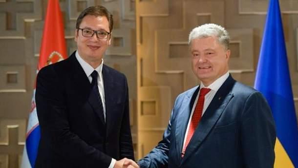 Неможливо вирішити питання Косово, не враховуючи інтереси Сербії, – Порошенко