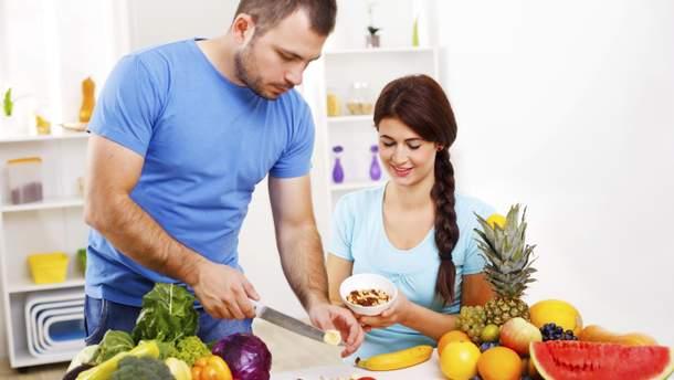 Скільки можна їсти фруктів та овочів