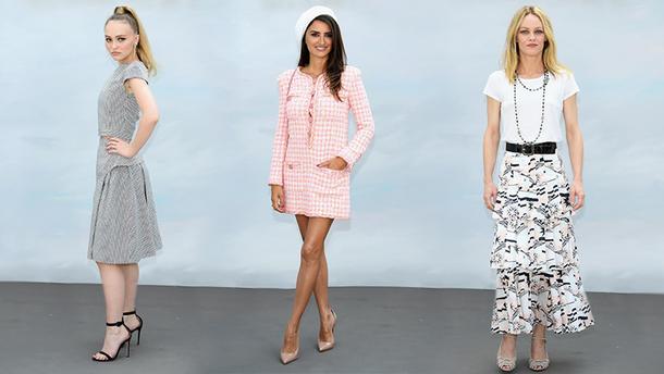 Зіркові гості  Chanel haute couture