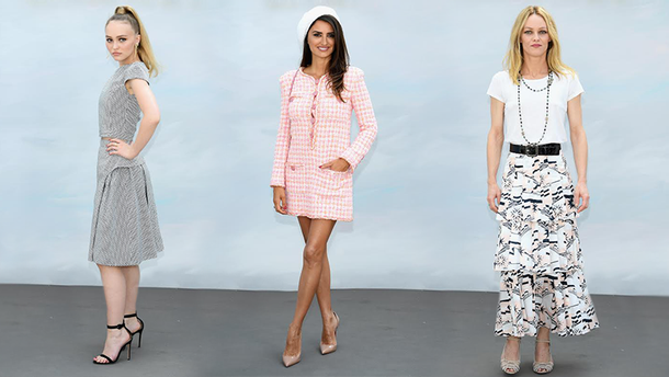 Звездные гости Chanel haute couture