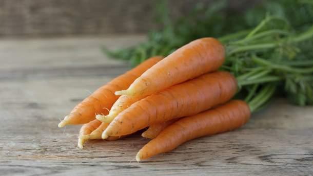 Морква знизить рівень холестерину та артеріального тиску