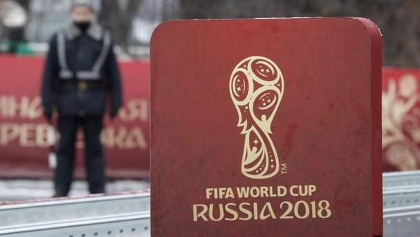 Форма Сенцова: польский художник создал резкую карикатуру про Чемпионата мира в России