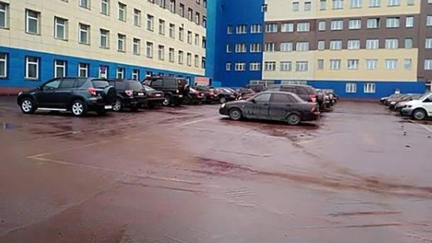 """У Росії випав """"кривавий дощ"""""""