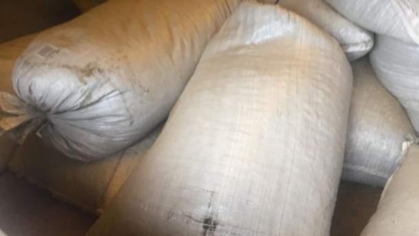 Полиция обнаружила рекордную партию янтаря на Житомирщине