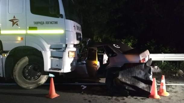 В оккупированном Крыму произошло смертельное ДТП