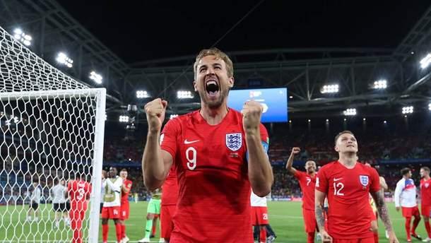 Збірна Англії стала останнім учасником чвертьфіналу Чемпіонату світу 2018