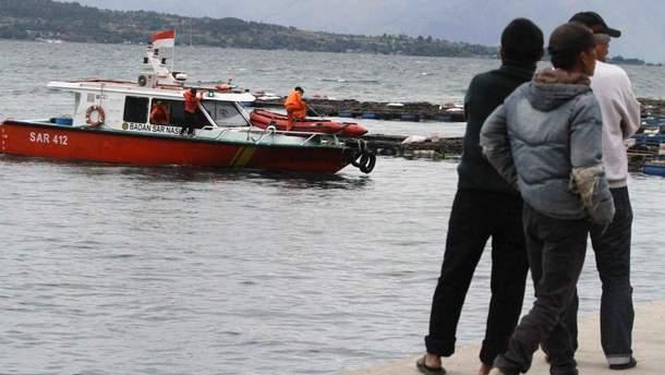 Авария на пароме в Индонезии
