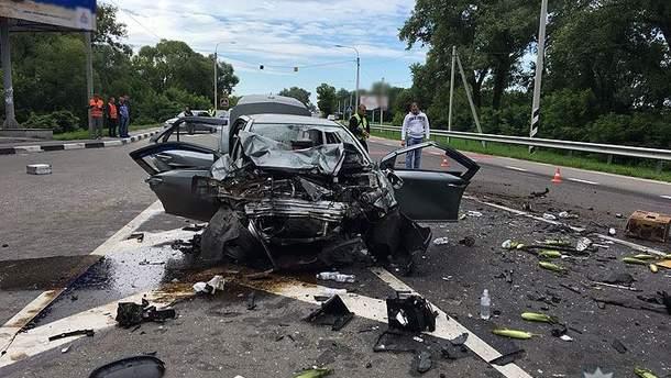 В пригороде Чернигова в ДТП погибли трое людей